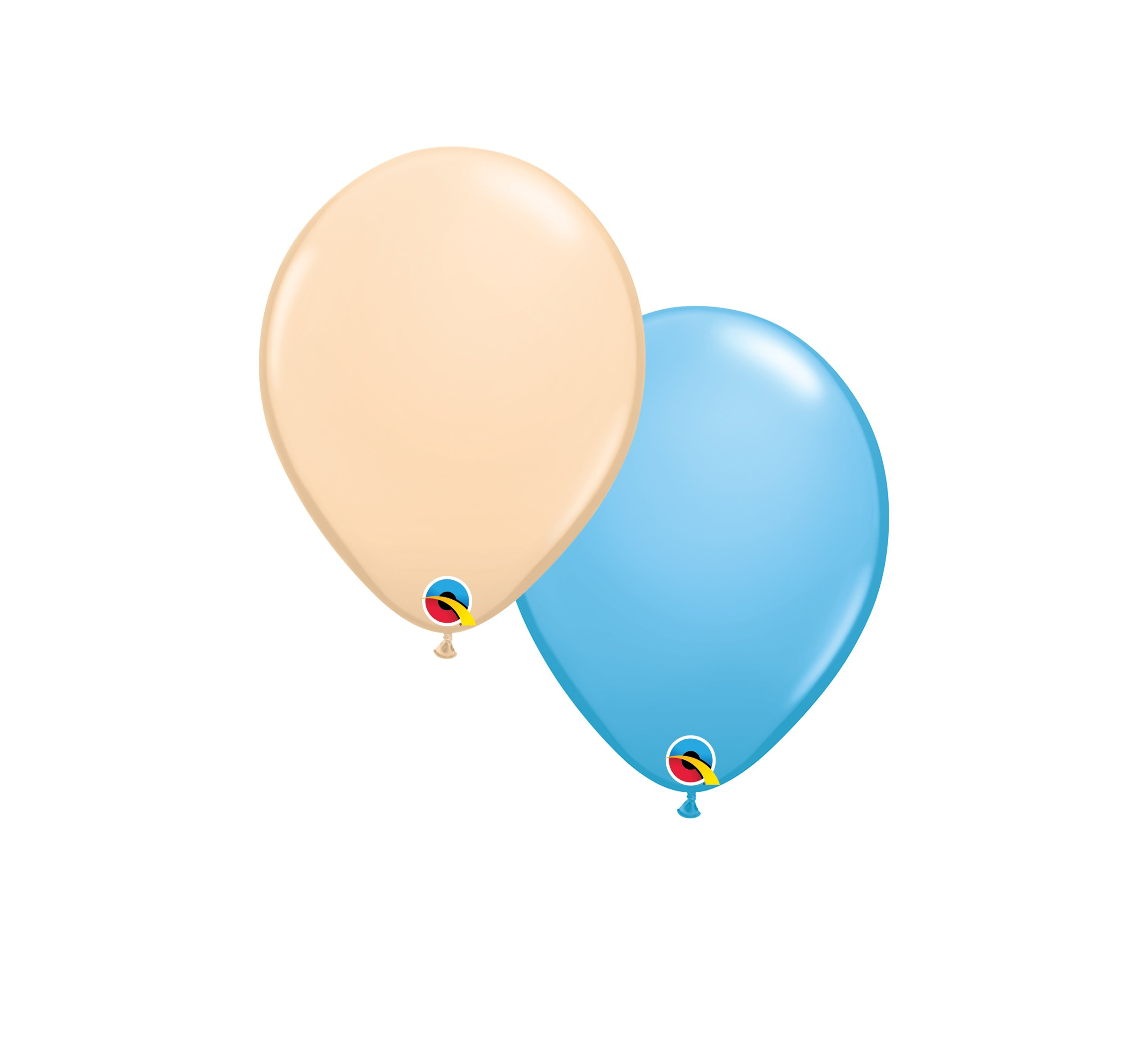 """Helium Balloons: Two Additional 10"""" Coordinating Latex Balloons $5.00"""