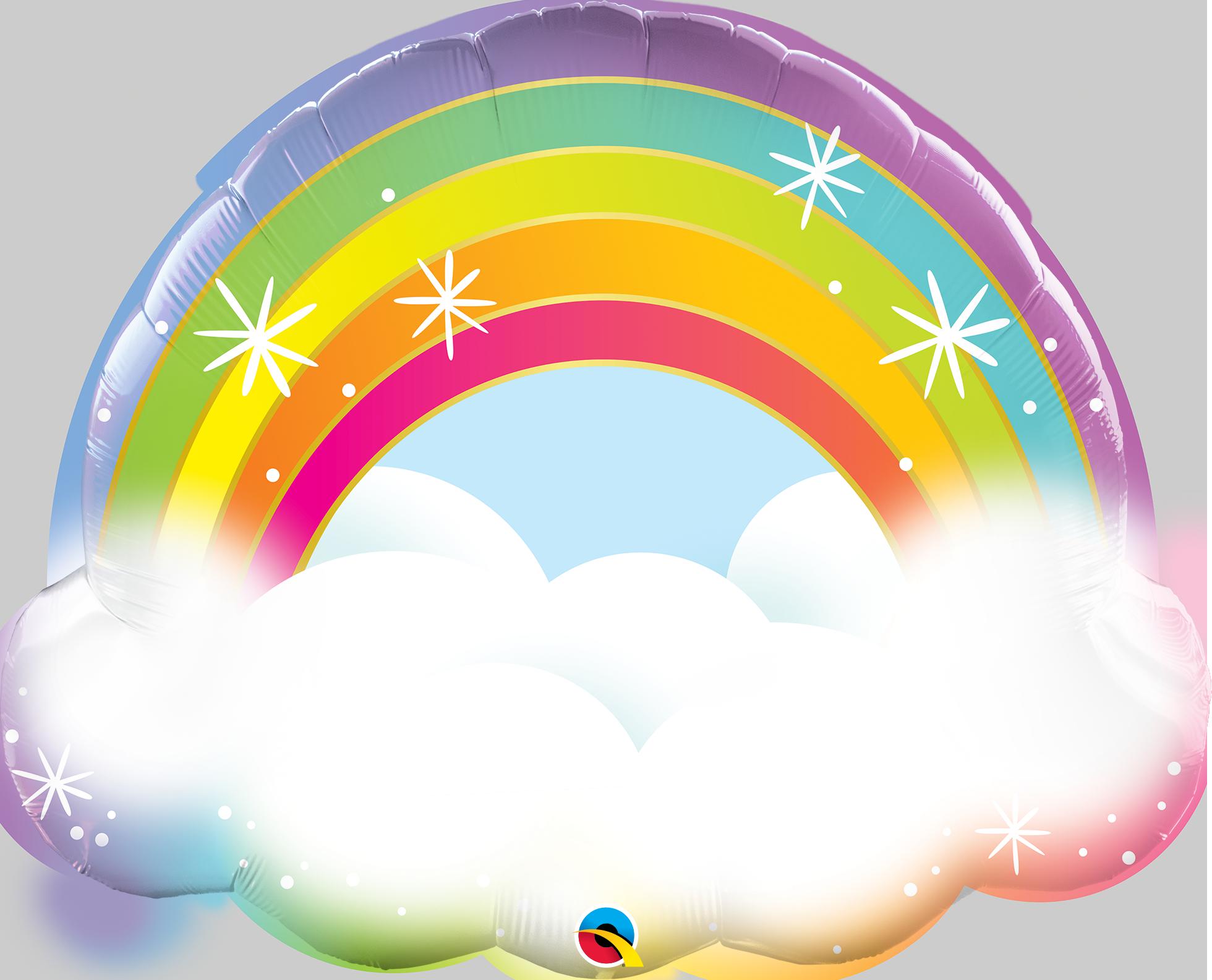 Rainbow w/ Cloud