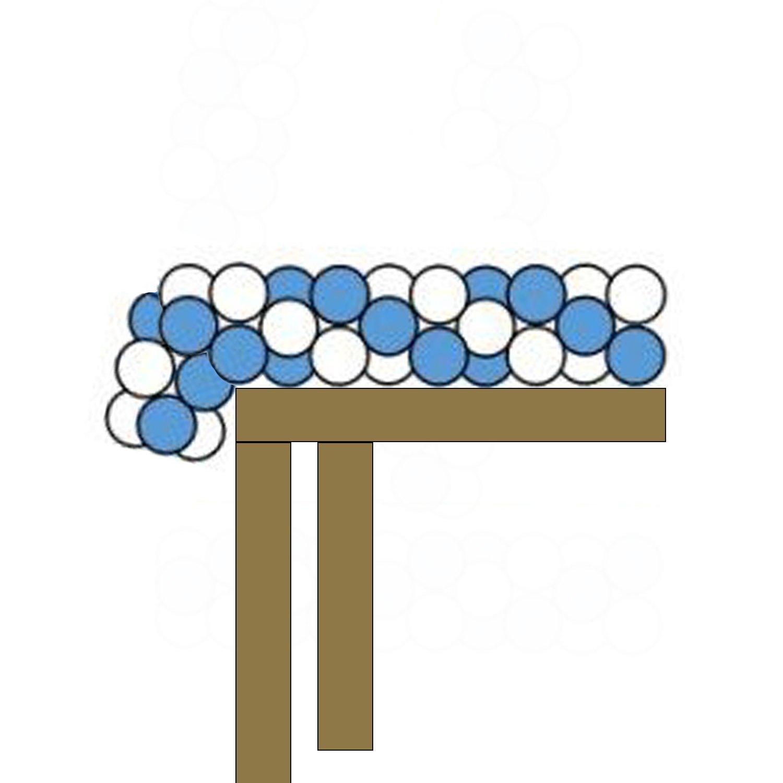 Spiral Balloon Table Runner $6+ per liner foot