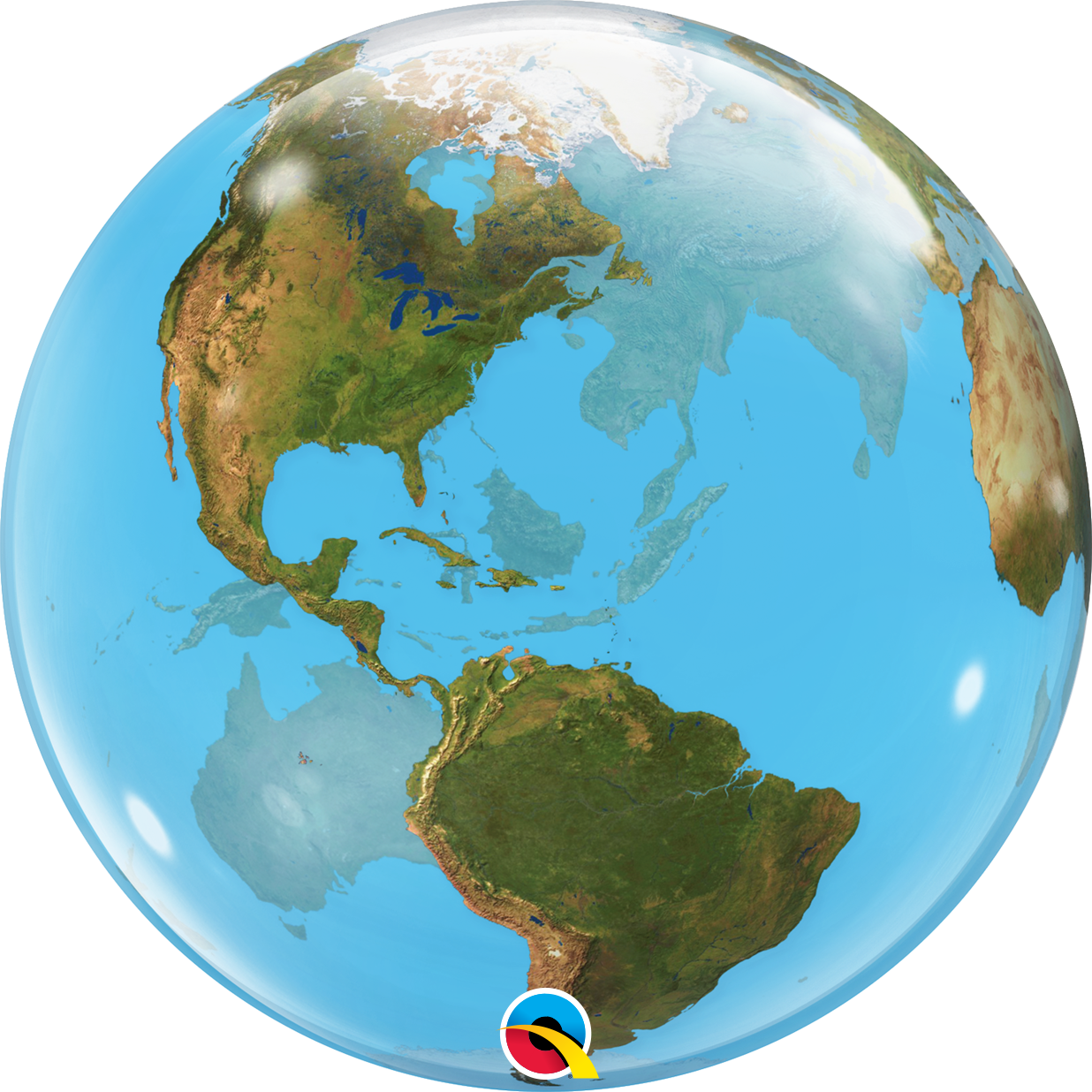 Earth Bubble Balloon