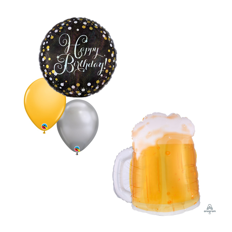 Beer Mug (Transparent)