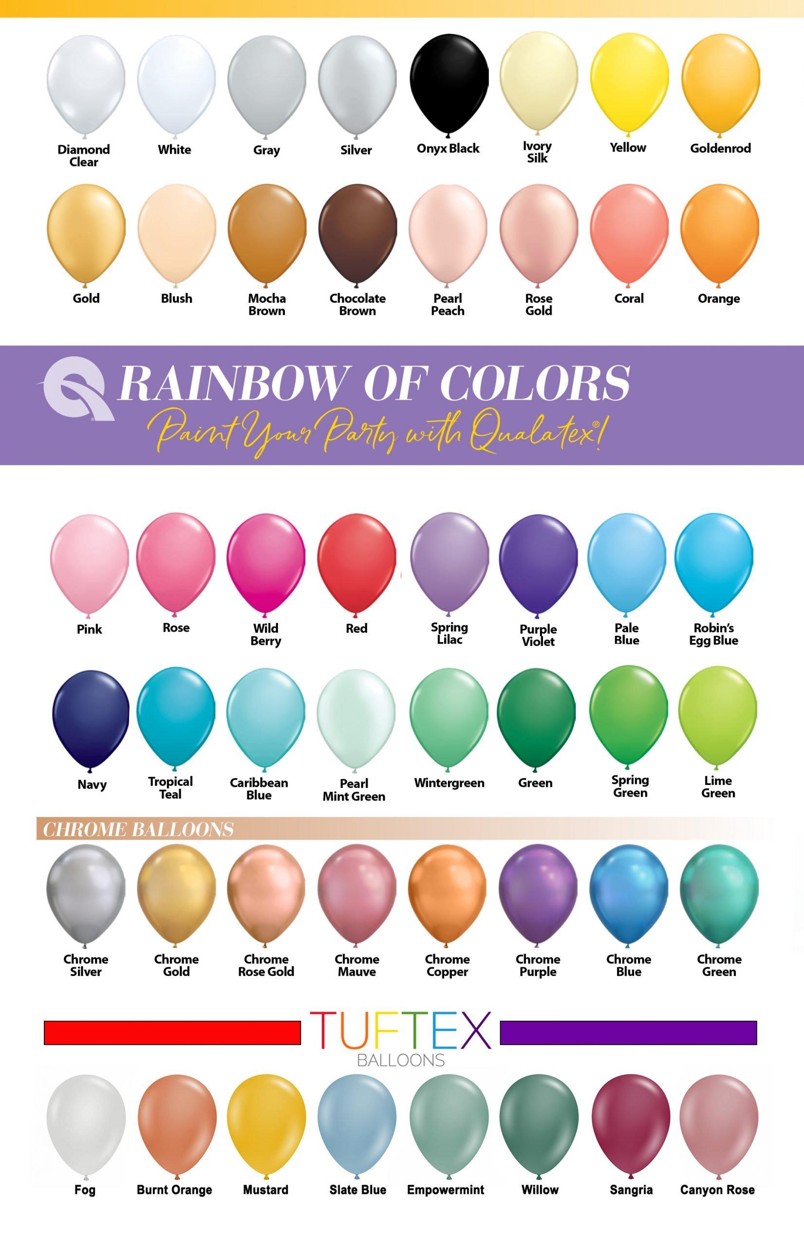 Select Colors Below VVV