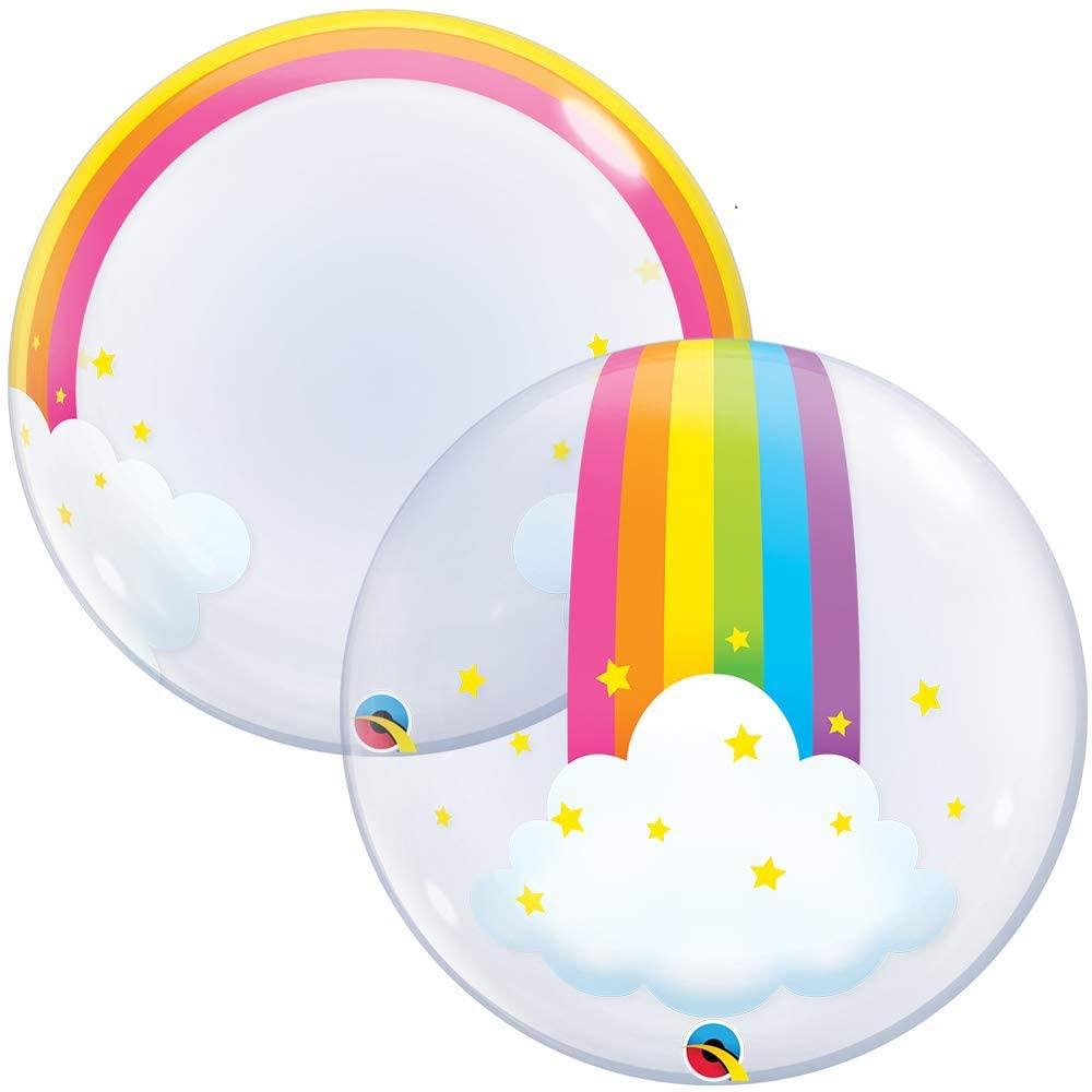 Crystal Clear w/ Rainbow & Clouds